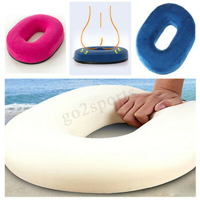 Ring Donut Round Memory Foam Seat Car Chair Cushion Pain Relief Support Pillow