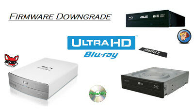UHD friendly Firmware Downgrade LG BH16NS55, ASUS BW-16D1HT etc.