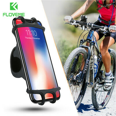 FLOVEME Universal Bicycle Mobile Phone Holder Bike Handlebar GPS Mount Bracket