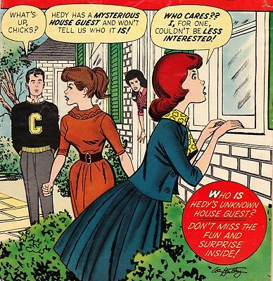 Patsy And Hedy #89 Marvel Comics Book *stan Lee Scripts* Humor/fashion (1963)