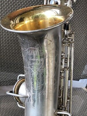 MARTIN HANDCRAFT  CURVED SAXOPHONE C MELODY 52711 Low Pitch