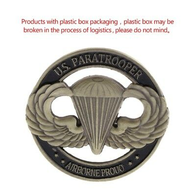 American Paratrooper US Hollow Commemorative Coin Collection Arts Souvenir Gift