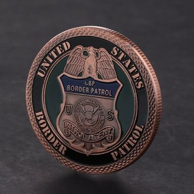 American Border Patrol Security Commemorative Coin Collection Arts Souvenir Gift