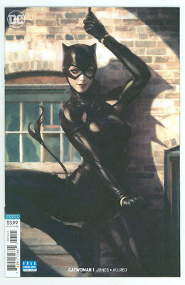 Catwoman #1 Artgerm Varaint Cover B DC 2018 NM+ 9.8 Combined Shipping Avail
