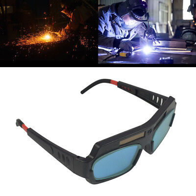 Solar Powered Auto Darkening Welding Mask Helmet Eyes Goggle Welder Glasses [US]