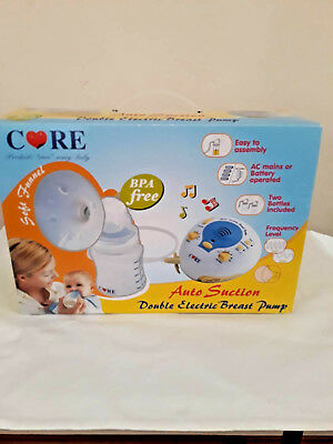 Breast Pump Care Double Electric Breast Pump Auto Suction New BPA