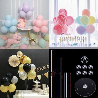 Mini Balloon Accessory Flower Base Table Support Holder Cup Stick Stand Plastic