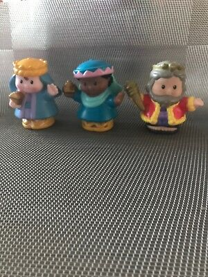 Fisher Price Little People 3  Wise Man Christmas Nativity Story Figures