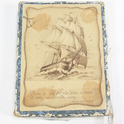 Emily Dickinson Bookplates There Is No Frigate Like A Book