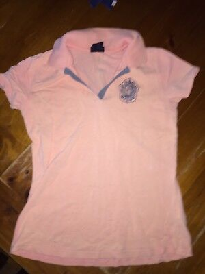 DUBLIN ~ Horse Pony Riding Tee Top ~ Women's Size S ~ 5 CLOTHES = FREE POST