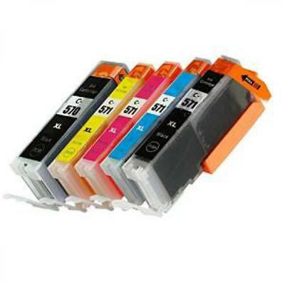 Kit 10 Cartucce Compatibili Xl Per Canon Pixma Mg 5750 5751 5752 5753 6850 6851