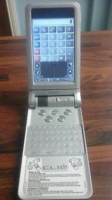 Sony Clie PEG-NX70V/E silver in great condition