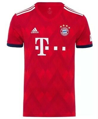 Bayern Munich Youth Home Shirt 2018/19 Size Extra Large (15-16)