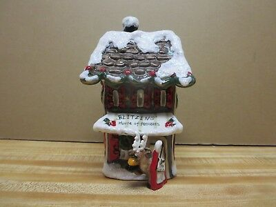 Blue Sky Clayworks Reindeer Ville Blizten's House of Pancakes Holiday