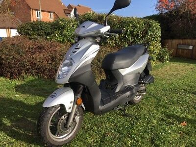 2016 Sym Symply 50cc scooter moped low mileage