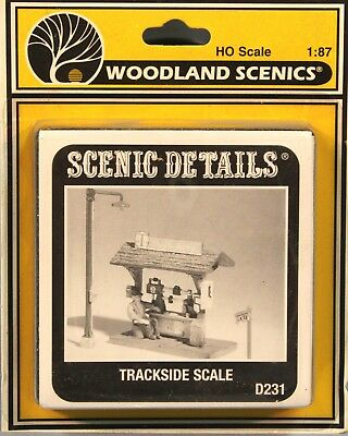 Woodland Scenics HO/HOn3 Trackside Scale (D231)