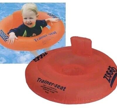 Zoggs Baby Trainer Seat, swim ring Inflatable  Age 3-12 months