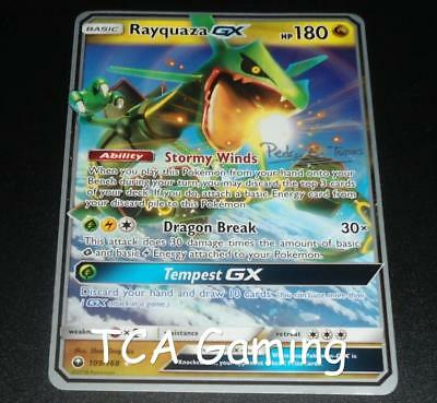 Rayquaza GX 109/168 World Championship PROMO Pokemon Card NEAR MINT
