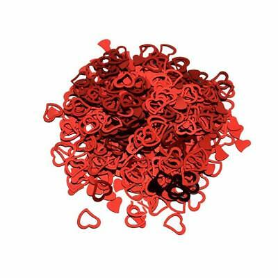 Heart Shape Table Scatters Foil Confetti Party Wedding Decor Many Colors Pick ON