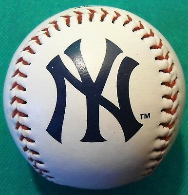 Genuine Official Licensed MLB New York Yankees Baseball Ball By Rawlings