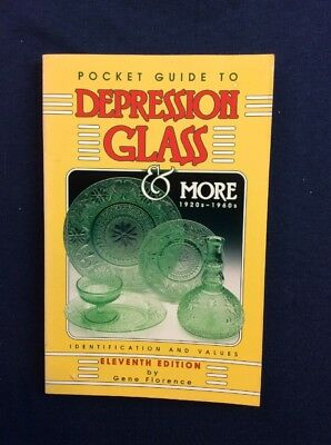 Pocket Guide To Depression Glass 11th Edition Softcover G Florence
