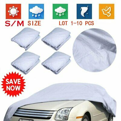 LOT S/M Outdoor UV Waterproof Rain Dust Breathable Full Protection Car Cover MA