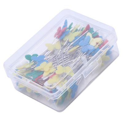 100pcs/set Patchwork Pins Flower Button Head Pins DIY Quilting Tool Sewing Y5S5