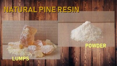 Natural Pine Resin Colophony - incense - powder and lumps