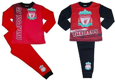 Boys Liverpool Football Club Pyjamas LFC Official Premier League Upto 13 Years
