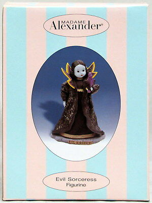 Madame Alexander Evil Sorceress Figurine 6 in Original Box and COA 2001