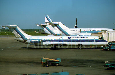 """Eastern Airlines Douglas DC-9-31 N8917E at ORD in June 1975 8""""x12"""" Color Print"""