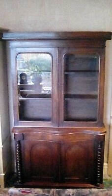 Antique bookcase, needs much work late Geogian/early Victorian