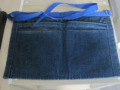 Denim Market 3 Pocket Trader Money Belt Bag Pouch Apron