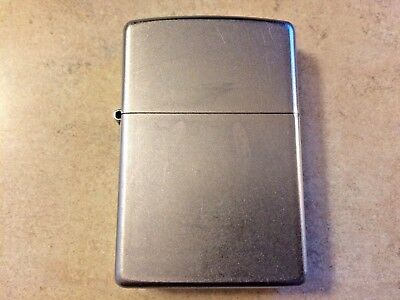Zippo Classic Brushed Chrome Lighter F 09 2009
