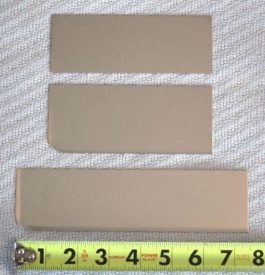 Stainless Steel Sheet 22 Gauge #2B Cutoffs Lot of 3 Small Pieces