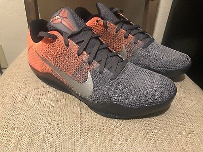 24d06a71cd5e Nike Zoom Kobe XI 11 Elite Low Easter Basketball Shoe Mango 822675-078 Sz  11.5