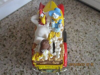 Very RARE 1999  Warner Bros. Foghorn Leghorn 1940 Ford Pickup Bank  new Orig Box