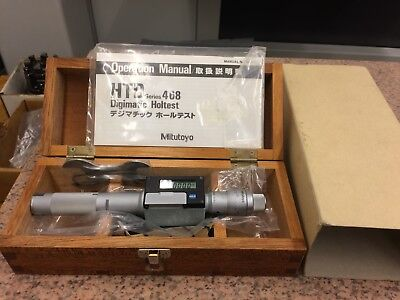 """Mitutoyo  Digimatic Holtest Internal Bore Gage Micrometer 468-206   .800-1.00"""""""