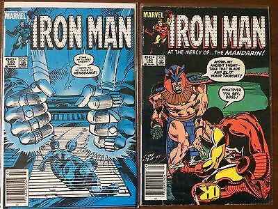 "Iron Man   #180 #181      (1968 1st Series)        ""Mandarin Part 1-2"""