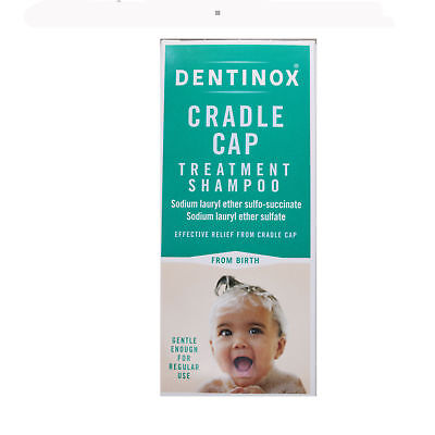 Dentinox cradle cap treatment shampoo gentle baby from birth NEW UK STOCK 125ml