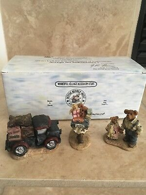Boyds Bears Ted E. Bear Shop #19501-1 Bearly - Built Village Accessory 2000 MIB