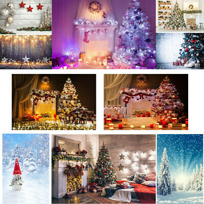 Christmas Photography Backdrop Xmas Fantastic Forest Props Backgrounds 3x5/5x7ft