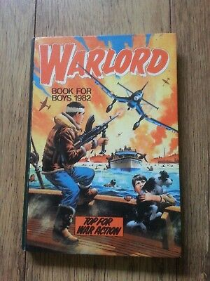 WARLORD BOOK FOR BOYS  1982  ( please see photos )
