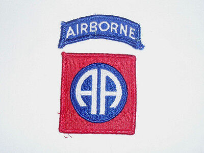US ARMY Servis Uniform Patch - 82nd Airborne Division - All American - USA