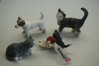 Schleich Lot (Cats and Dog)