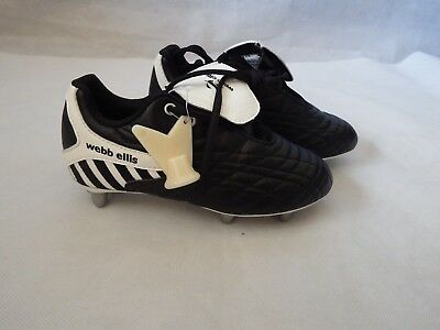 Webb Ellis Otago 08 Lo Cut ST Rugby Boots  - size UK 3 Low Cut
