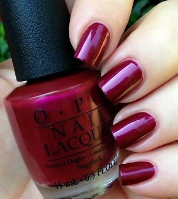 Opi Nordic Thank Glogg It S Friday Fuchsia Wine Pink