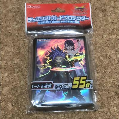 Yugioh Japanese - Duelist Card Protector Yuto & Ruri 55pcs Sleeves Sealed NEW