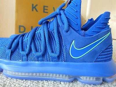 purchase cheap d4ed6 d868e  150 NEW Nike Zoom KD 10 City Edition Racer Blue Kevin Durant 897815-402 sz