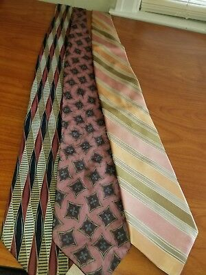 Tie Lot Preowned Barbara Blank Charleston Ted Baker A6